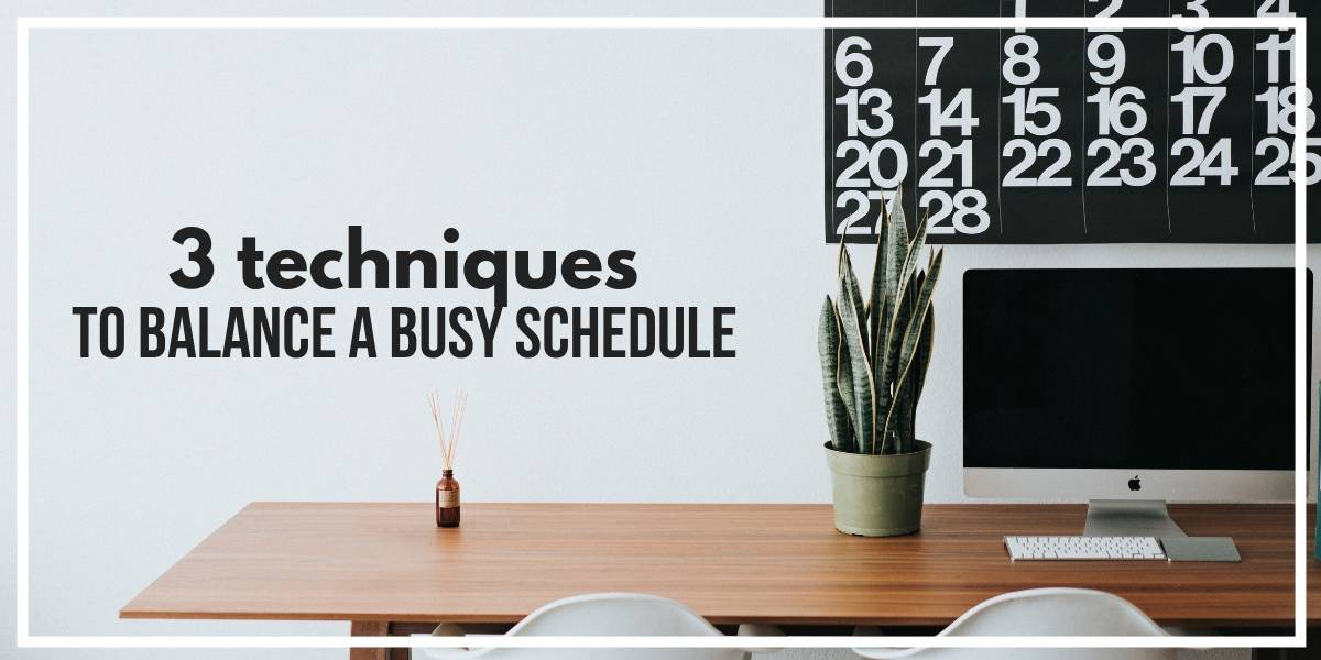 How To Balance A Busy Schedule - 3 Techniques | Masha Plans