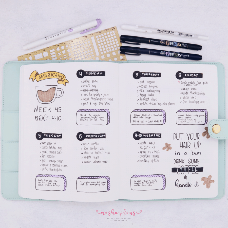 How To Plan Like A Boss: 10 Simple Tins To Follow | Masha Plans