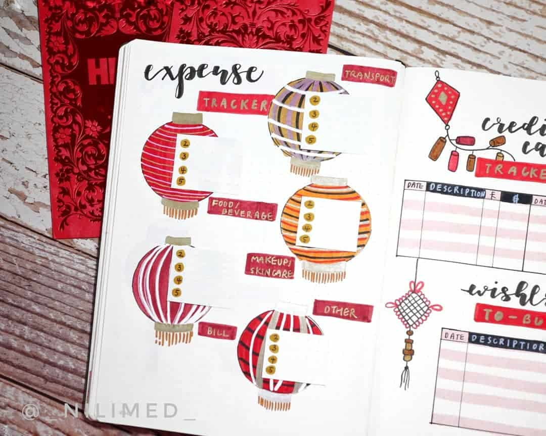 Bullet Journal Theme Ideas - spread by @_nilimed_ | Masha Plans