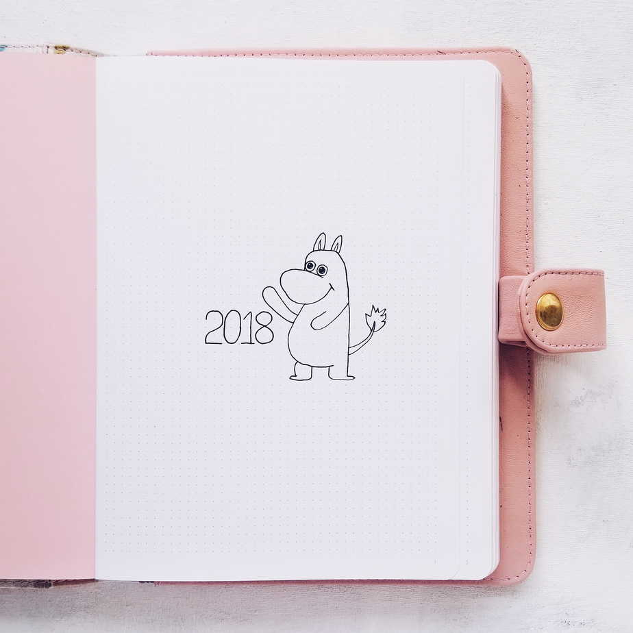 How To Overcome Bullet Journal First Page Fear   Masha Plans