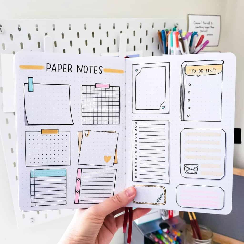 Bullet Journal Boxes Ideas by @seed_successful_you | Masha Plans