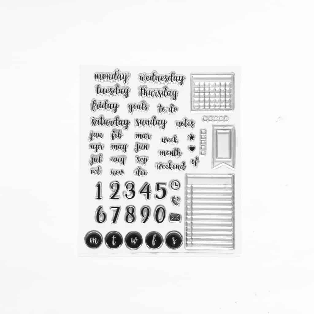 Archer and OIive Acrylic Stamps | Masha Plans