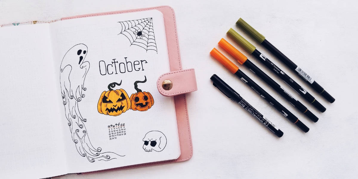 How To Conquer Bullet Journal First Page Fear | Masha Plans