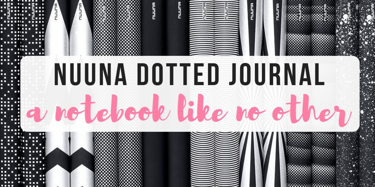 Nuuna Journal Review - A Notebook Like No Other | Masha Plans