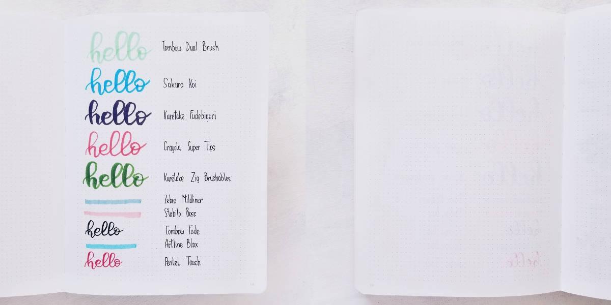 Nuuna Journal Review - Pen Test | Masha Plans