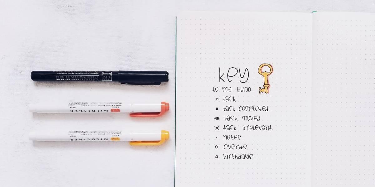Comprehensive Guide To Bullet Journal Key - my key | Masha Plans