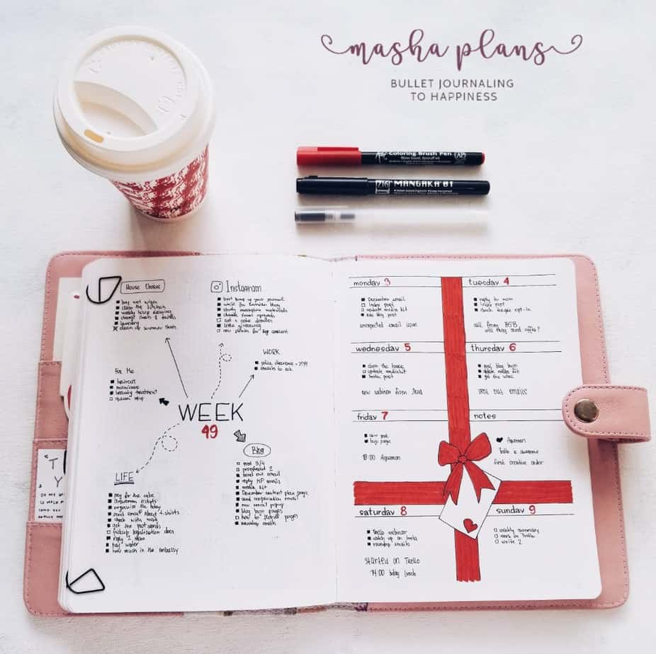 December 2018 Plan With Me, Week 49 | Masha Plans