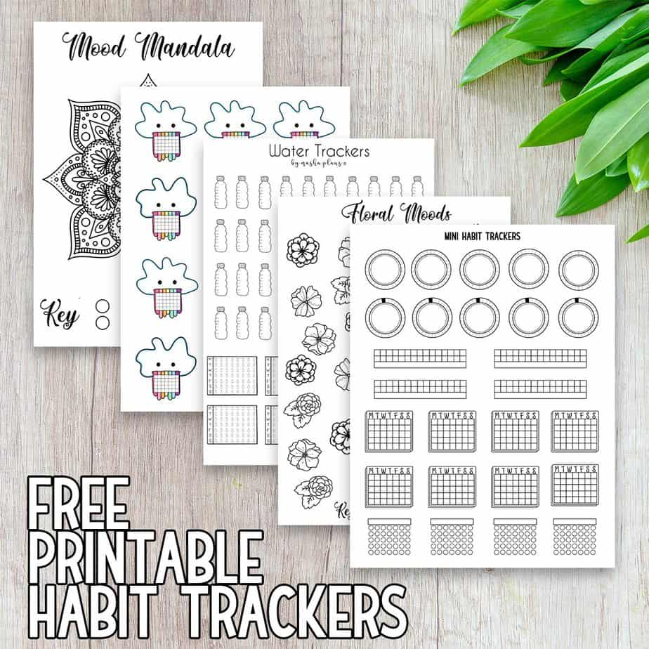 The Ultimate Guide To Bullet Journal Habit Trackers Masha Plans