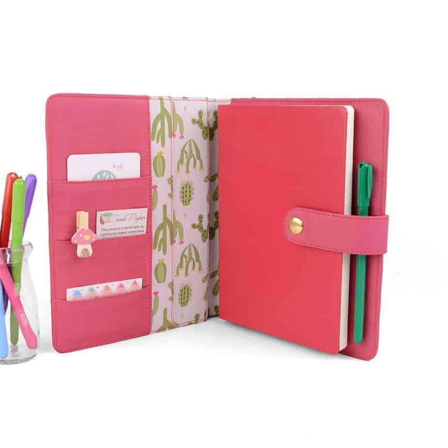 Epic Bullet Journal Gift Ideas - Handmade Cover | Masha Plans