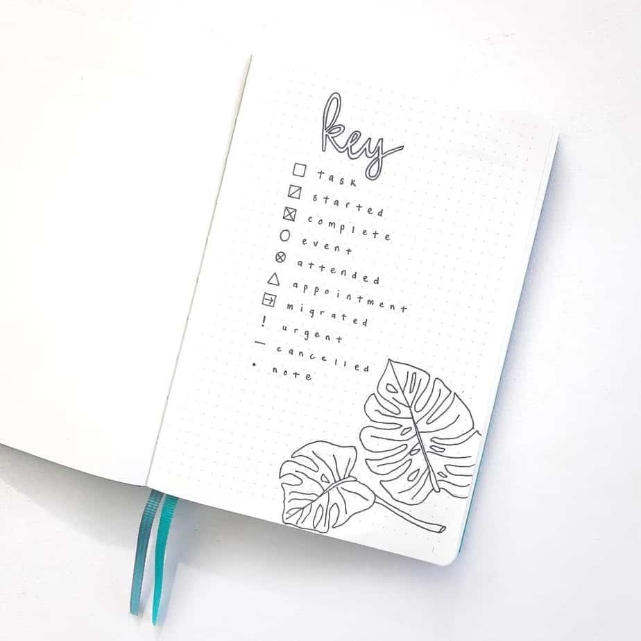 Bullet Journal Key: How To Create The Perfect One For You | Masha Plans