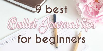 9 Ridiculously Useful Bullet Journal Tips For Beginners | Masha Plans