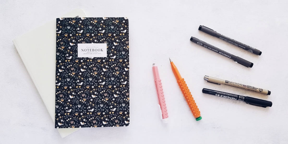 How To Draw Flower Doodles In Your Bullet Journal, Supplies | Masha Plans