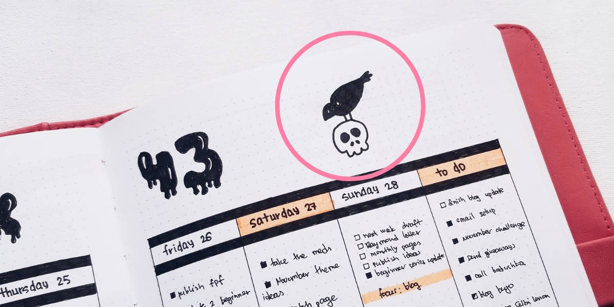 How To Fix Bullet Journal Mistakes - Doodles | Masha Plans
