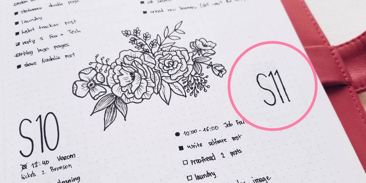 How To Fix Bullet Journal Mistakes - Whiteout | Masha Plans