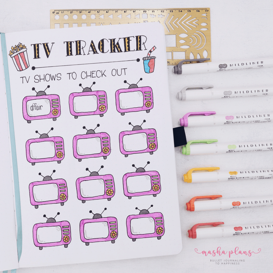 How To Organize Collection In Your Bullet Journal and 50 Page Ideas | Masha Plans
