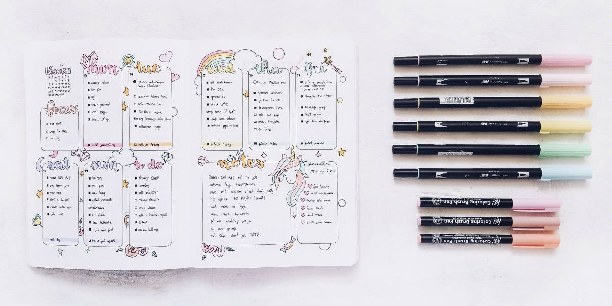 What Is A Bullet Journal? The Ultimate Bullet Journal Guide - Step By Step Setup | Masha Plans