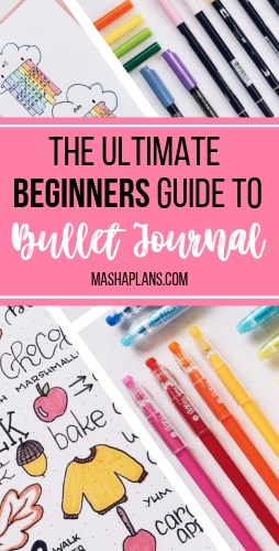 What Is A Bullet Journal? The Ultimate Bullet Journal Guide For Beginners | Masha Plans