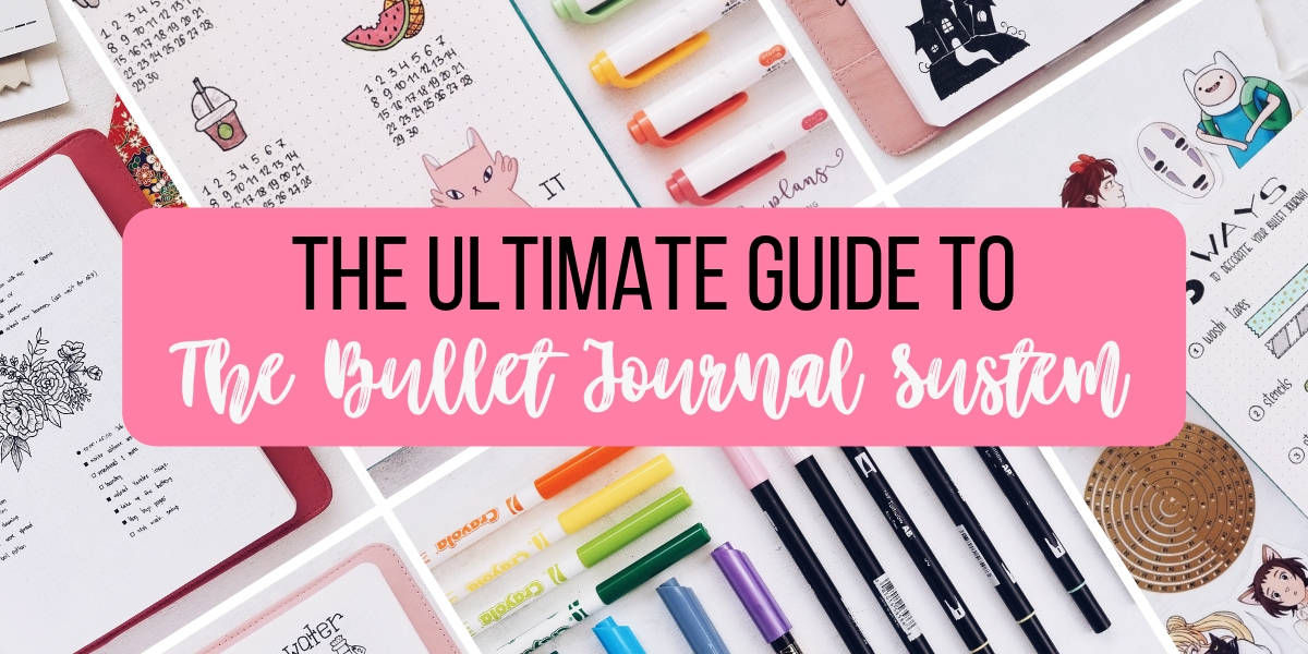 What Is A Bullet Journal? The Ultimate Bullet Journal Guide | Masha Plans