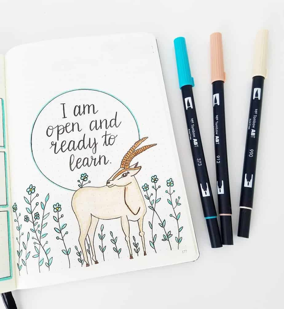 7 Creative Ideas For Your Bullet Journal Cover Page, by @seed_successful_you | Masha Plans