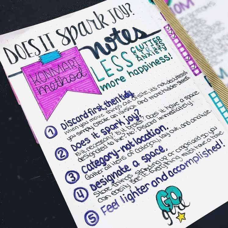 Bullet Journal Cleaning Tracker by @planstohelpslaymomlife | Masha Plans