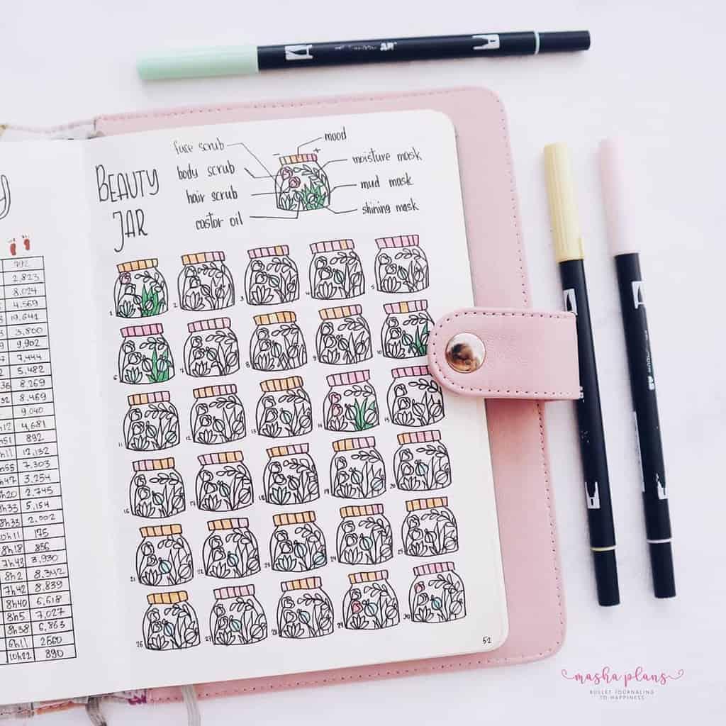 Monthly Habit Tracker | Masha Plans