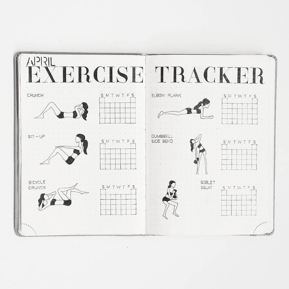 Workout Tracker by @aimighani | Masha Plans
