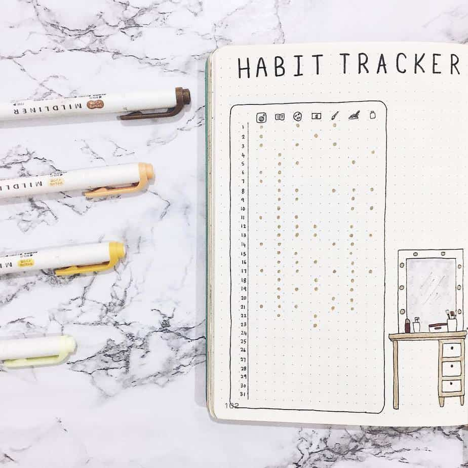 Yearly Habit Tracker by @amizaomar | Masha Plans