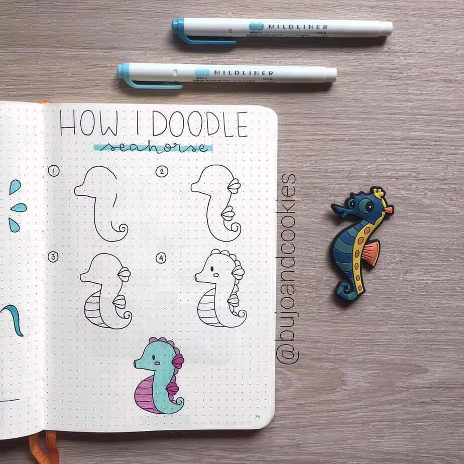 Master Your Bullet Journal Doodles, @bujoandcookies | Masha Plans