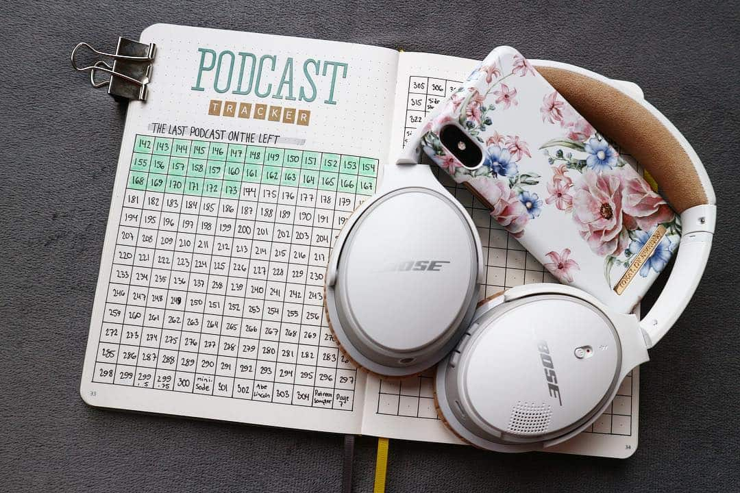Podcast Tracker by @iliketobujo | Masha Plans
