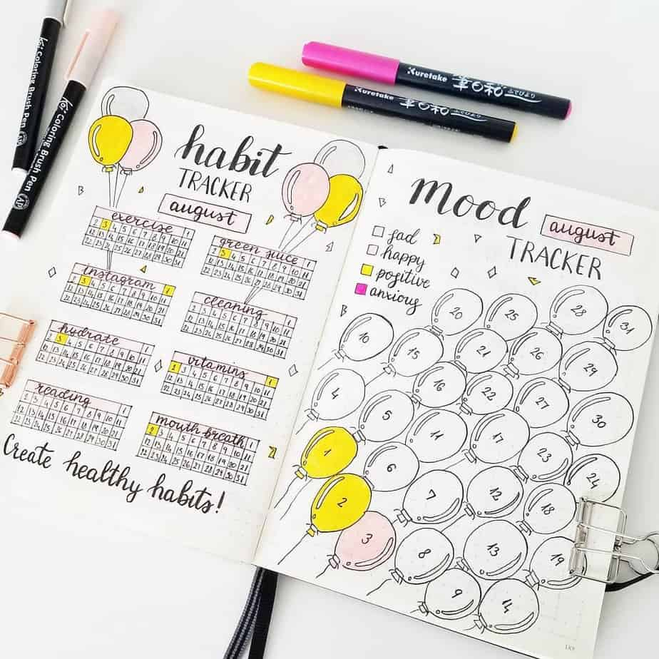 Yearly Habit Tracker by @seed_successful_you | Masha Plans