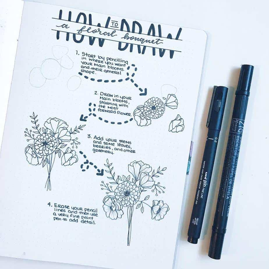 Master Your Bullet Journal Doodles, @the.petite.planner | Masha Plans