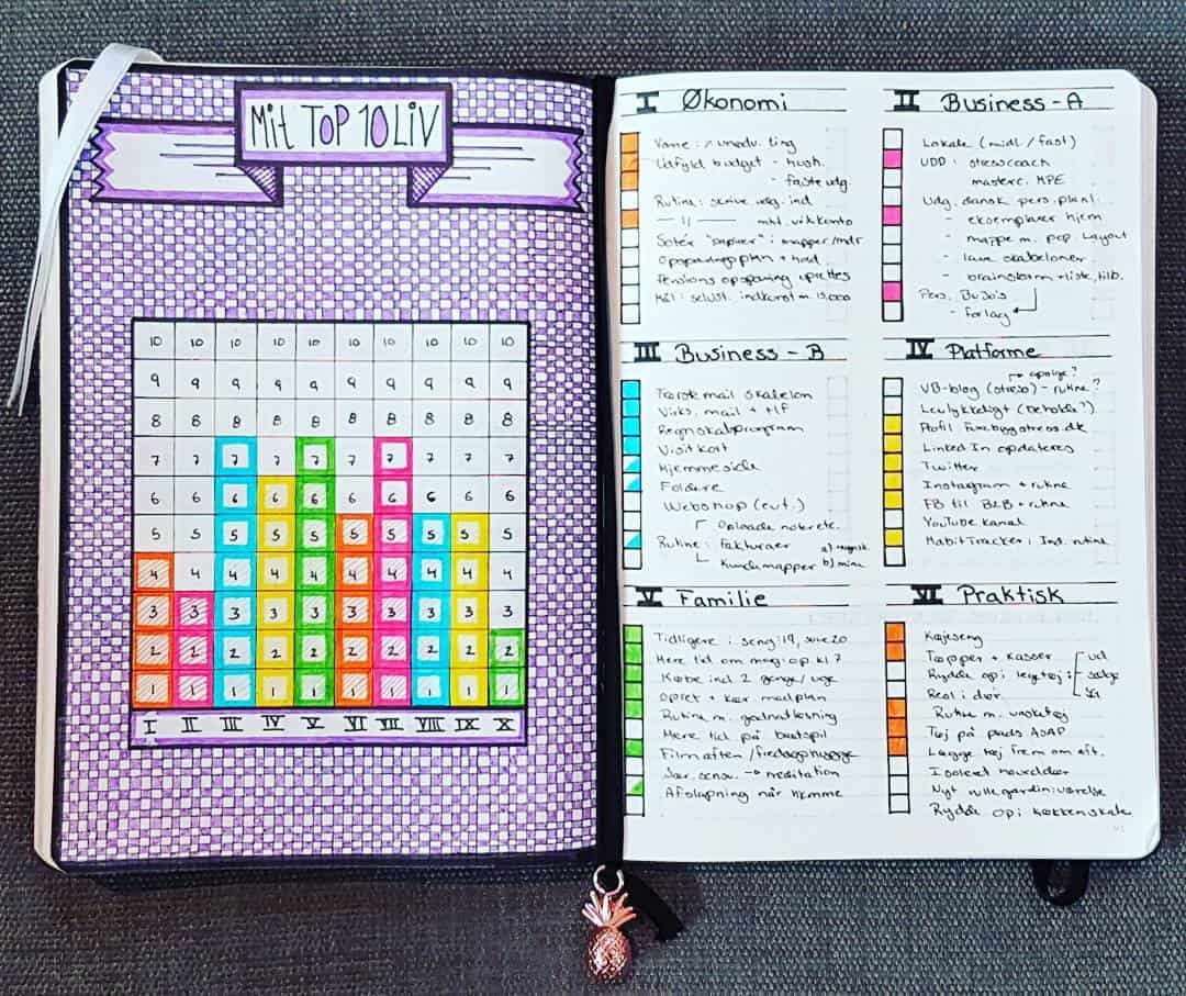 Level 10 Life spread by @thepassionforplanning | Masha Plans