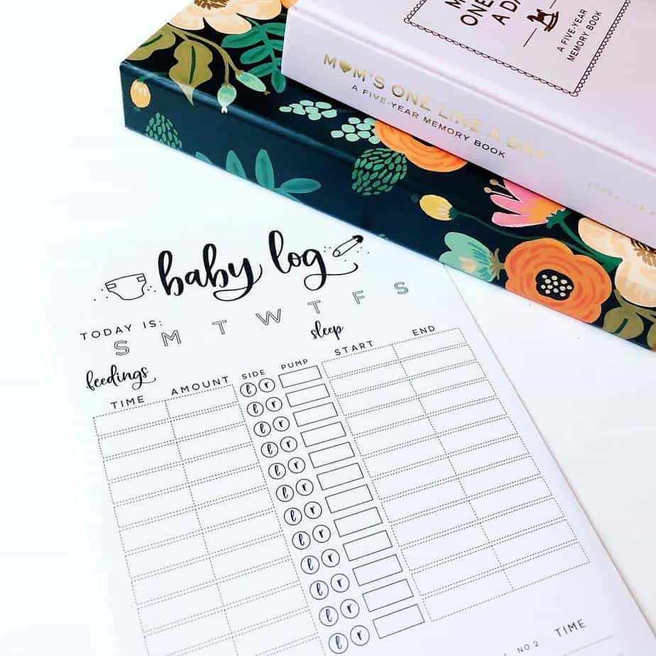 Baby Tracker by @vonnloudesigns | Masha Plans