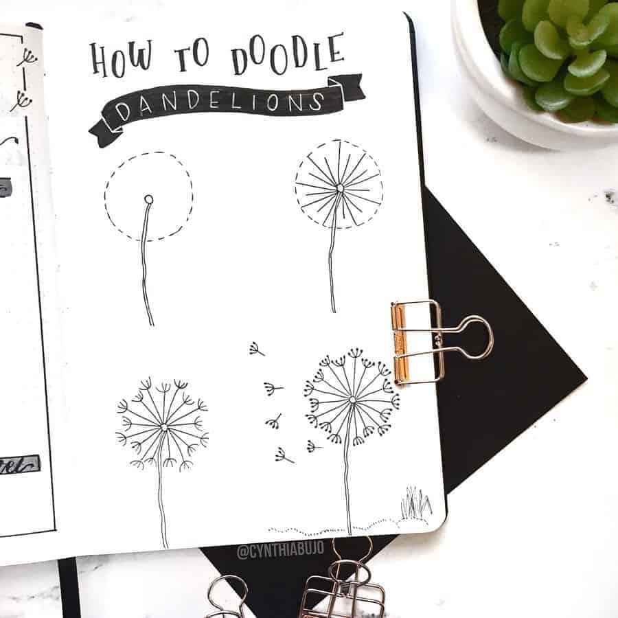 How To Draw Flowers - tutorials by @cynthiabujo | Masha Plans