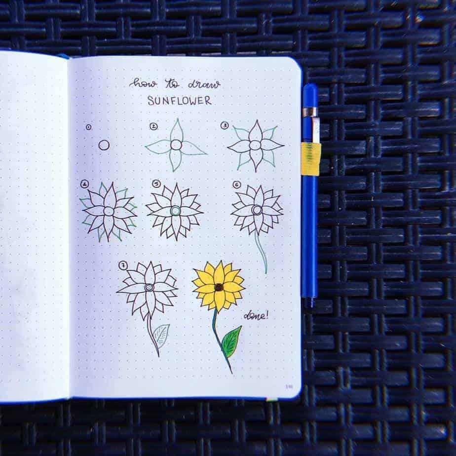 How To Draw Flowers - tutorial by @francescaelpini | Masha Plans