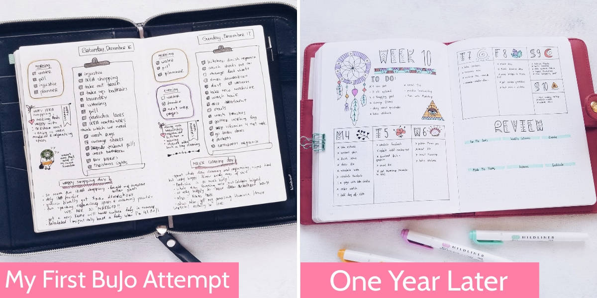How To Recover Your Bullet Journal Motivation, Compare Yourself To Yourself | Masha Plans