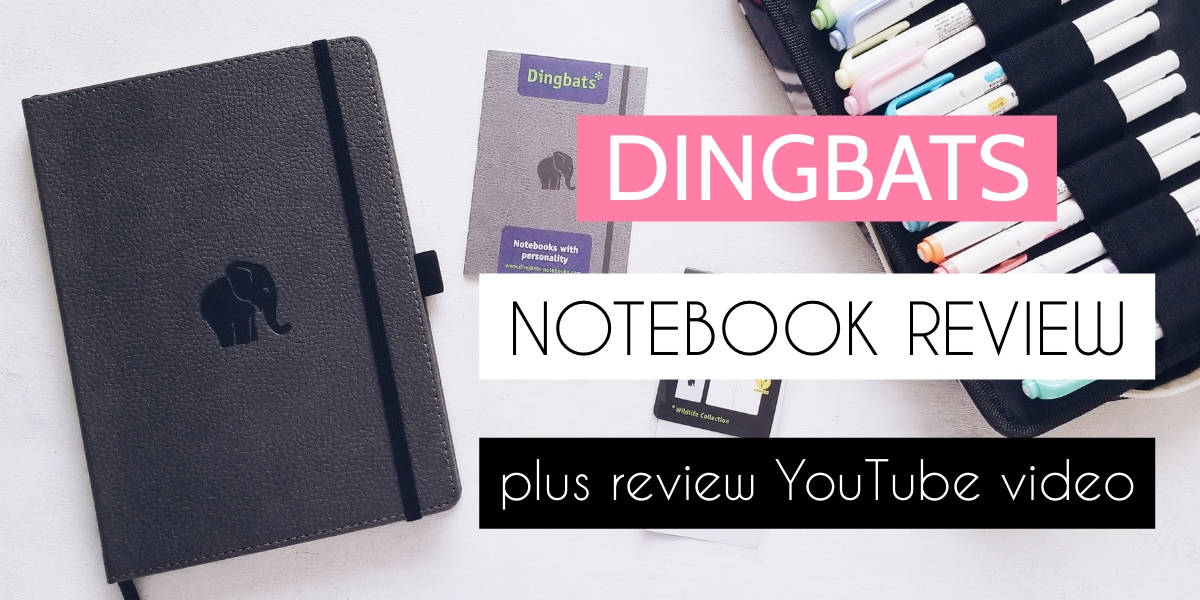 Dingbats Notebook Review: Wildlife Elephant Journal | Masha Plans
