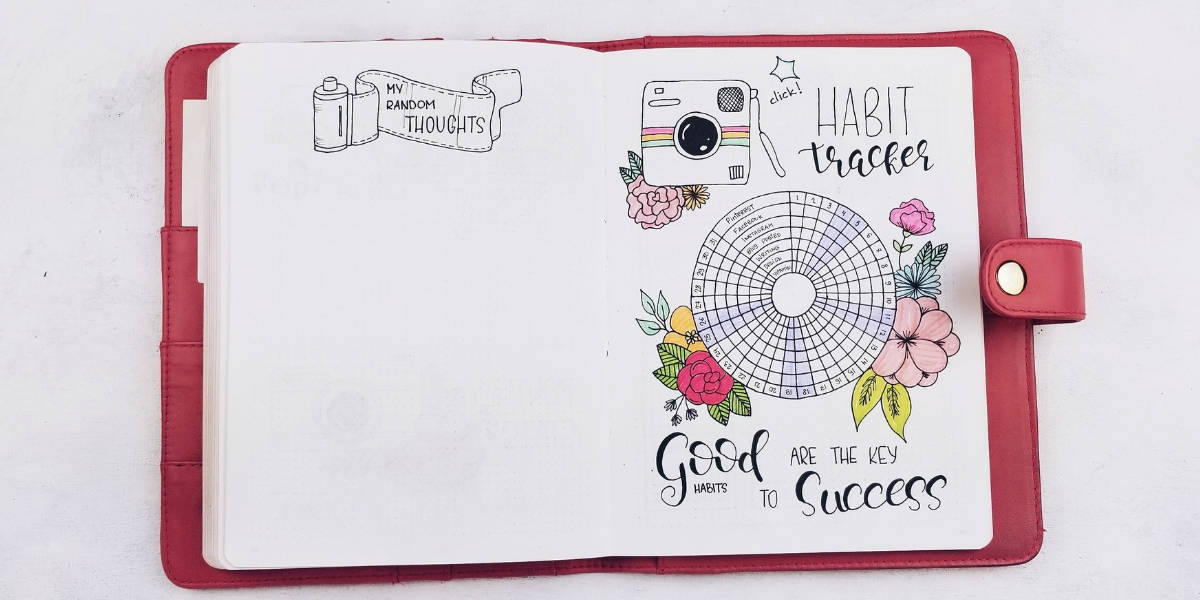 May Bullet Journal Setup - Photography Theme, Habit Tracker | Masha Plans