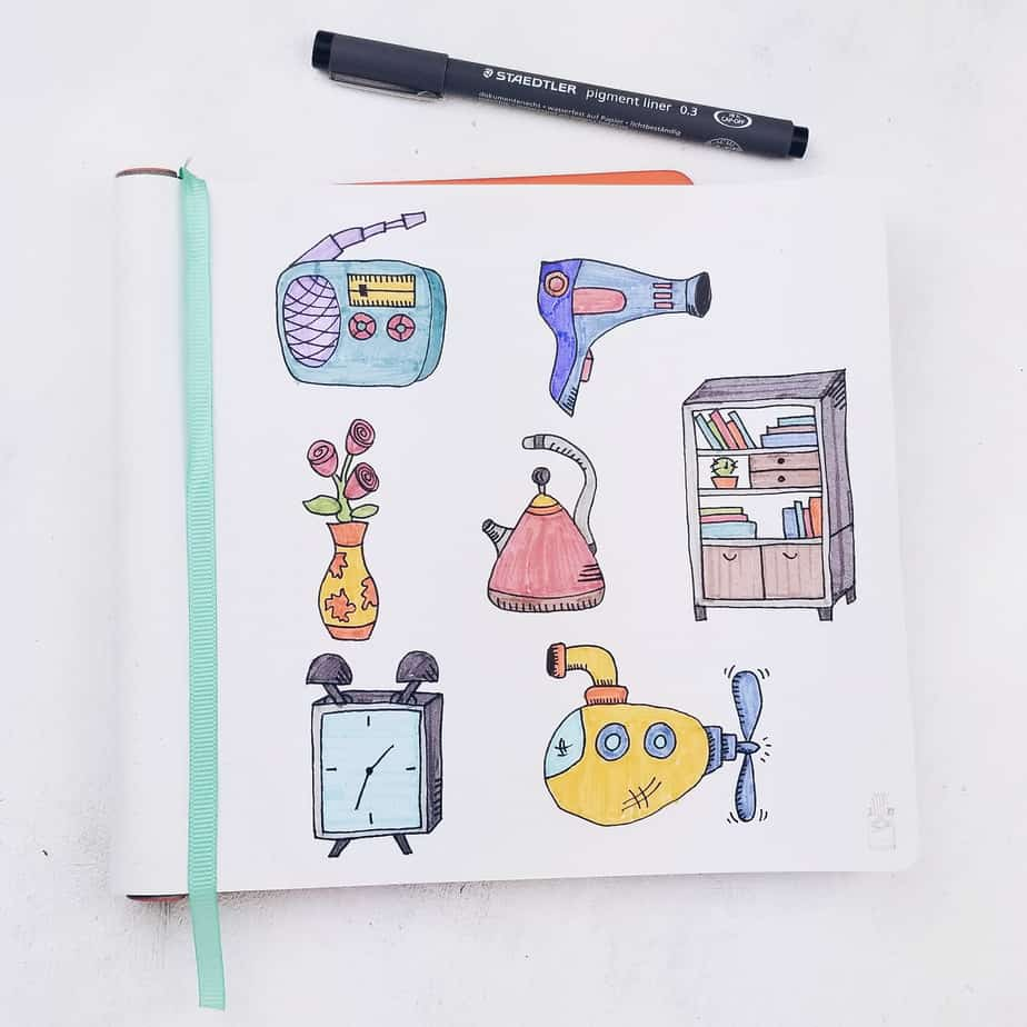 Free Fantastic Resources To Learn How To Doodle, IQ Doodle | Masha Plans