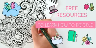 Free Fantastic Resources To Learn How To Doodle | Masha Plans