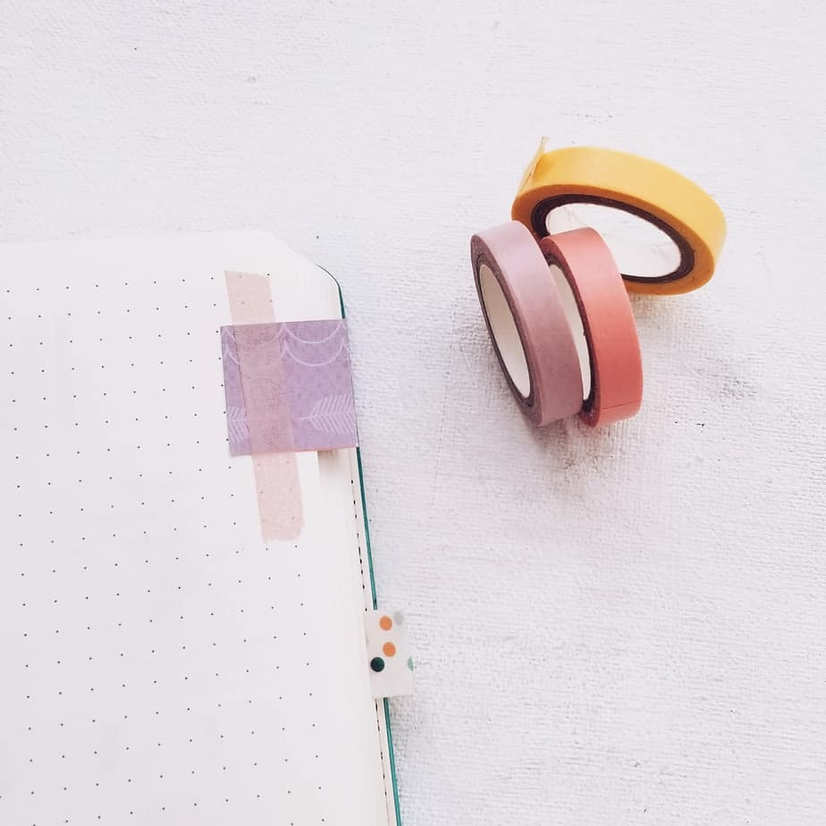 13 Genius Washi Tape Ideas For Your Bullet Journal | Masha Plans