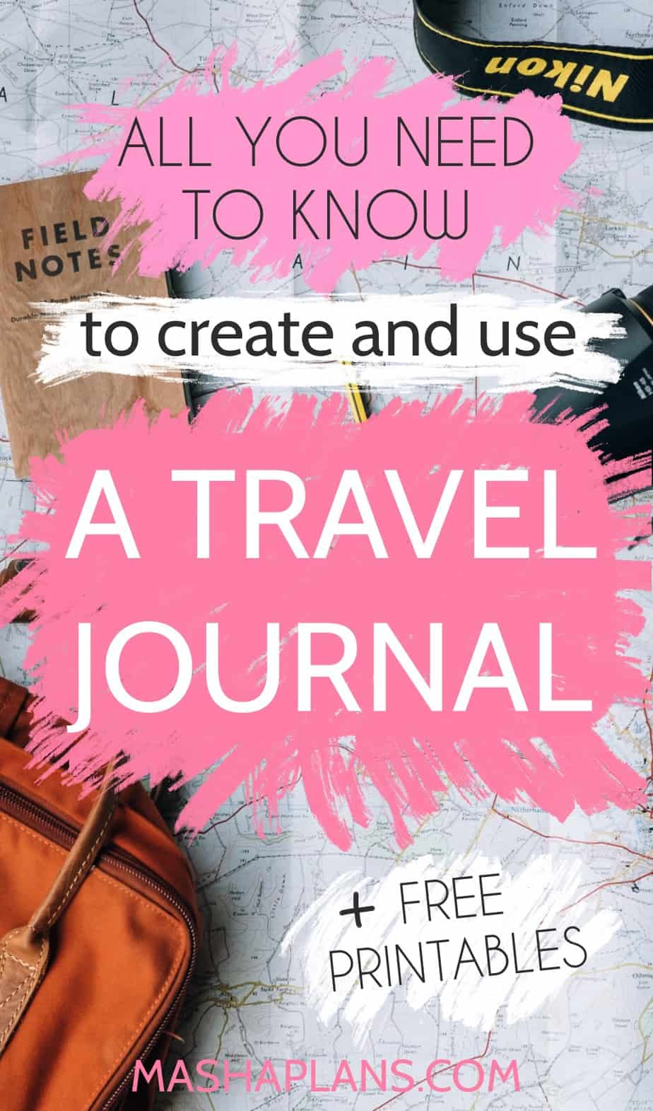 Comprehensive Guide To Travel Bullet Journal, Free Printables | Masha Plans