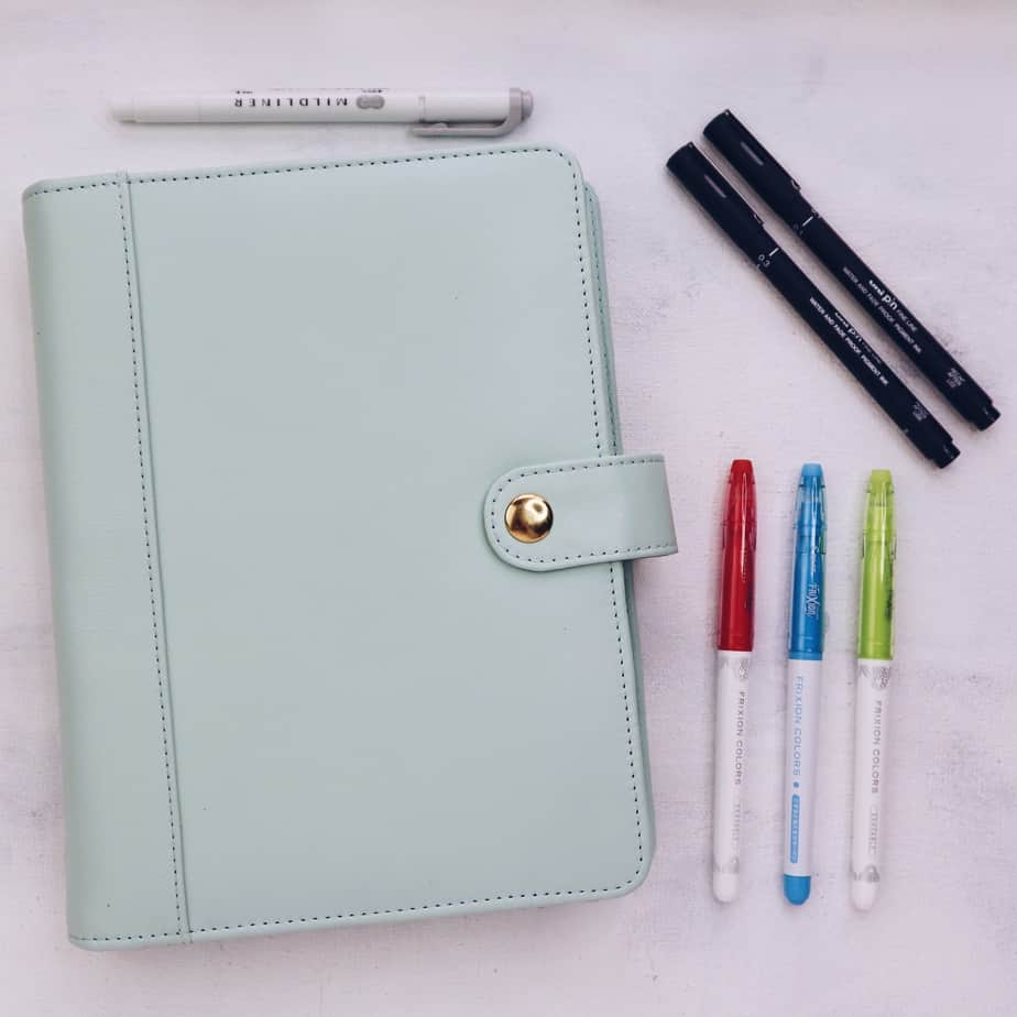 Back To School Bullet Journal Setup, supplies | Masha Plans