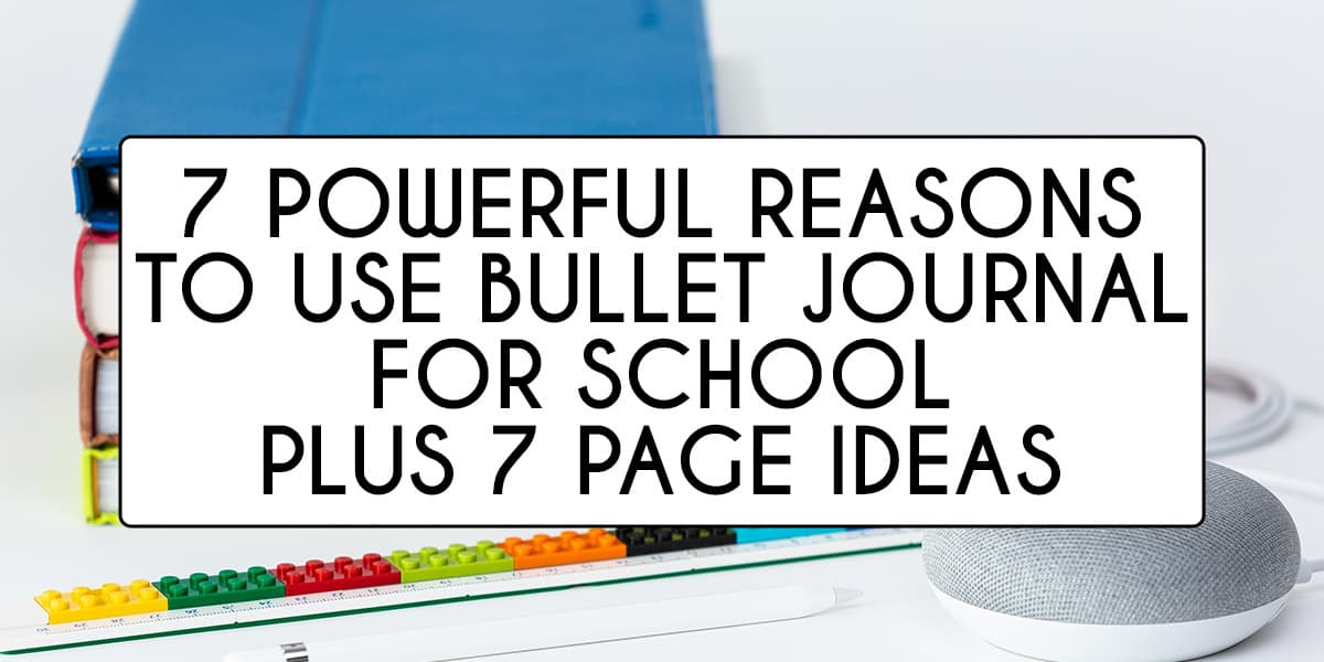 Why You Need A Study Bullet Journal | Masha Plans
