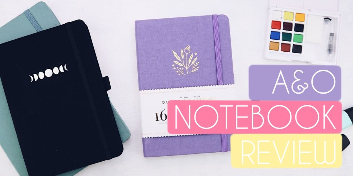 Bullet Journal Review: Archer and Olive Dot Grid Notebook | Masha Plans