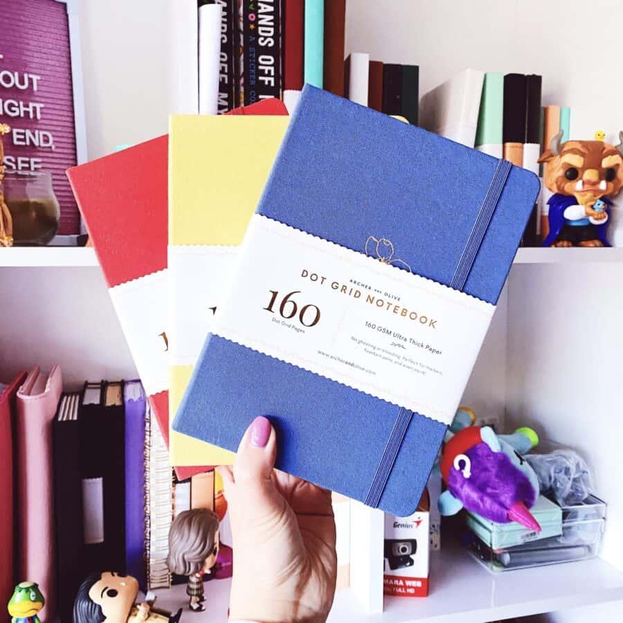 Essential Bullet Journal Supplies, notebooks | Masha Plans