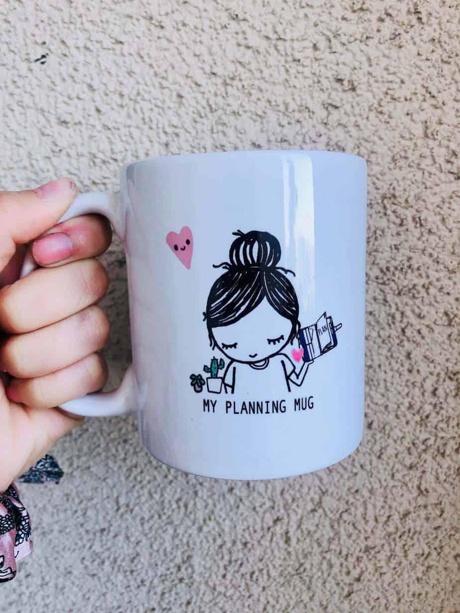 Bullet Journal gift ideas - mug | Masha Plans