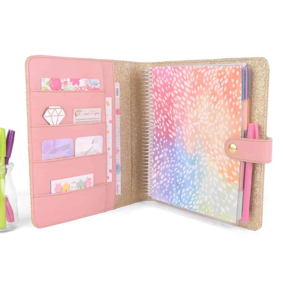 Bullet Journal gift ideas - Handmade journal cover | Masha Plans