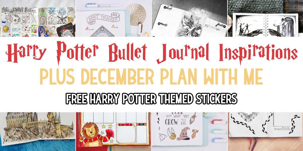 Harry Potter Bullet Journal Setup