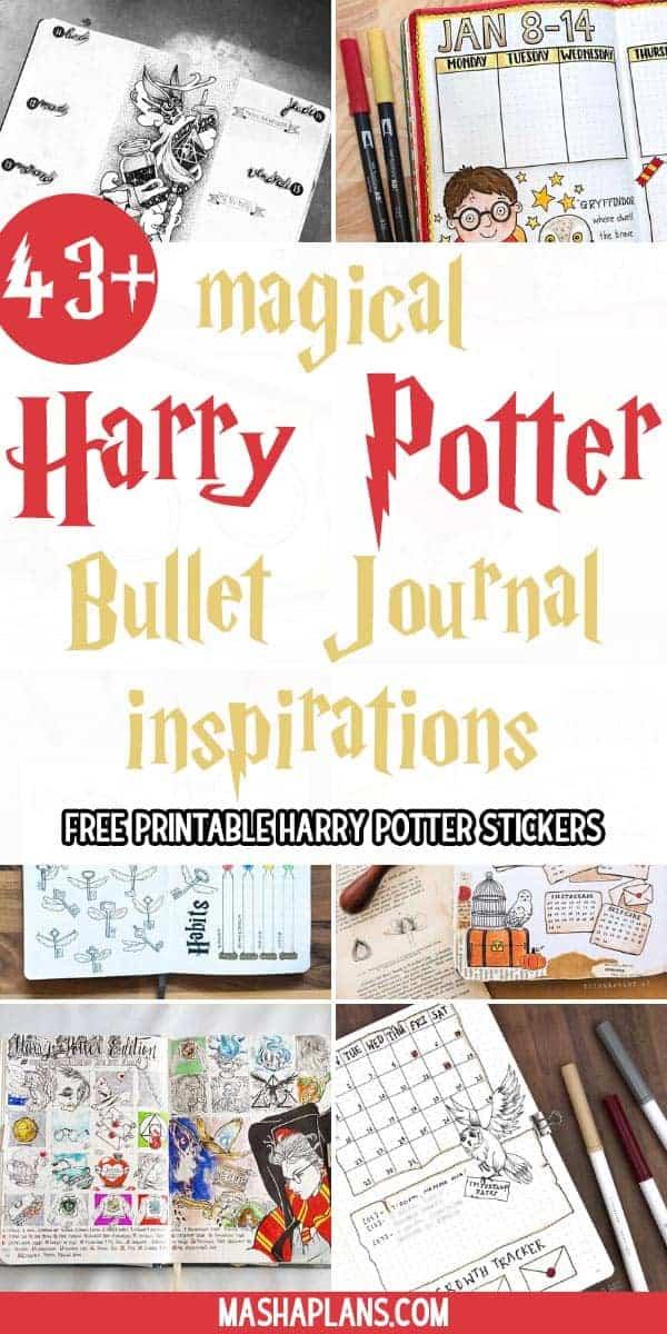 Harry Potter Bullet Journal Inspirations   Masha Plans